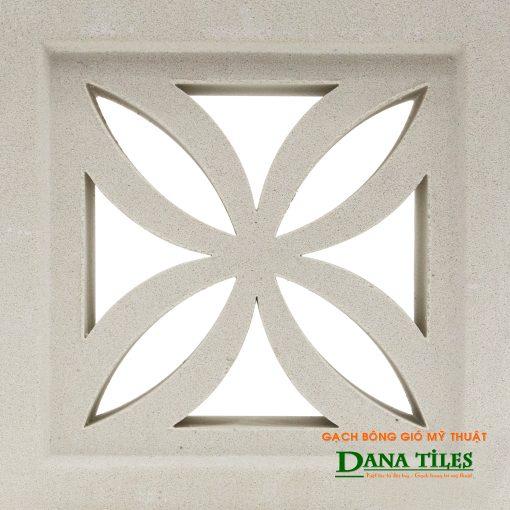 Gạch bông gió xi măng trắng Danatiles D-04.jpg