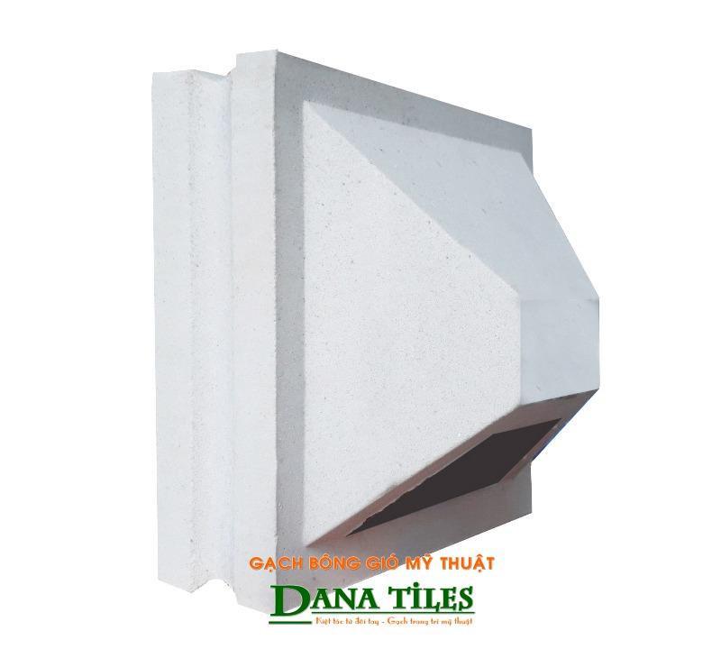Gạch bánh ú xi măng Danatiles BU-01 trắng